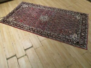ESTATE Circa 1900 5x7 Kurdish-Bidjar Handmade Knotted Wool Rug 582858