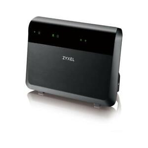 Módem Router ZyXEL VMG8823-B50B Dual-Band Wireless AC / N VDSL2 Voip Combo Wan