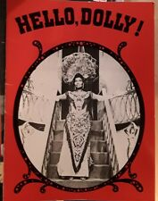 HELLO, DOLLY Vintage Theater Program Pearl Bailey  Theater Now, Inc