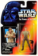 Star Wars Luke Skywalker in Degobah Fatigues POTF2 .00 Short Saber Long Tray
