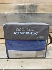Tempurpedic Dreamfit Full Denim Bamboo Sheet Set (di84)