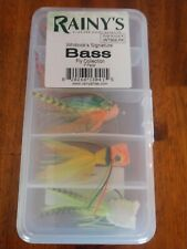 Rainy's Whitlock's Signature Bass Fly Assortment (7 Pack) Fly Fishing NEW