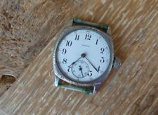 ANTIQUE ILLINOIS SPRINGFIELD  MEN'S WRISTWATCH 11JEWELS - #2062027- PARTS/REPAIR