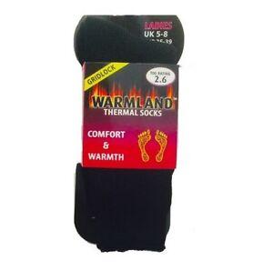 LADIES WARMLAND Thermal Winter Warm Heat Locking Socks UK 5-8 PACK OF 1 PAIR