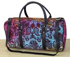New Indian Cotton Ethnic Luggage Bag Sports Duffel Bag Adjustable Strap Handmade