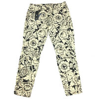G-Star Pharrell Williams Elwood X25 Mid Boyfriend Thai Silk Floral Jeans W25 L30