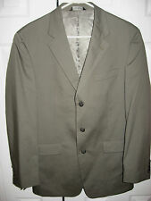 Mens Olive JOS A BANK Lined Suit 40 Long