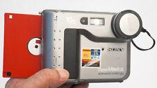 Sony Mavica MVC-FD71 Vintage Floppy Digital Camera VERY COOL WORKING FREE SHIPS