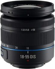Objectif Compact 18-55mm Noir pour Samsung NX Série Caméra NEUF