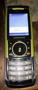 Samsung AT&T Cellular Slide Camera Phone With Charger Needs SIM Card 1.3 Mega