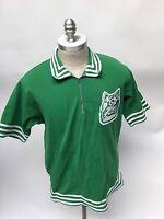 Vintage Spanjian Warmup Shirt 50s Hillcrest Jersey 1950's