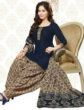Elegant Cotton Designer Patiyala Unstitched Dress Material Salwar Suit D.No B406