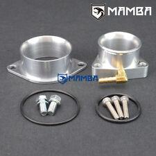 MAMBA Turbo Compressor Inlet + Outlet Flange Adapter Garrett GT2560R GT2871R
