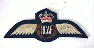 ROYAL CANADIAN AIR FORCE WINGS / BREVET / BADGE