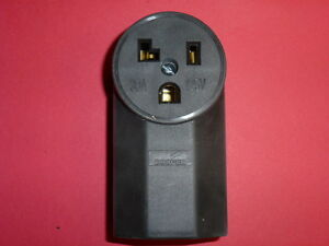 NEW! COOPER 30A - 125V SURFACE POWER RECEPTACLE #1231, POWER OUTLET