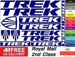 TREK Bikes S1 Decals, Stickers, Mtb. Cycling, Bmx, Car, Van