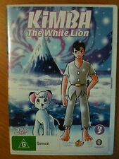 KIMBA THE WHITE LION VOLUME 3 ~ AS NEW ~ 2 DICS DVD SET ~ FREE POST