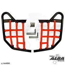 LTR 450 LTR450 Suzuki   Nerf Bars   Alba Racing   Black bar Red nets 195 T1 BR