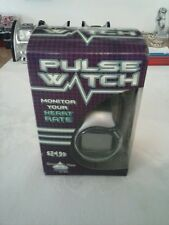 One Pulse Heart Rate Wrist Watch. Grey And Black.  New