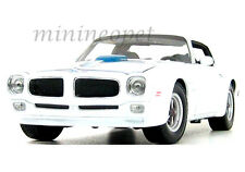 WELLY 12566 1972 72 PONTIAC FIREBIRD TRANS AM 1/18 WHITE