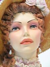 "Cameo Girls Head Vase 13.7"" Judith 1818 ""Perchance To Dream"" MIB  FREE SHIPPING"