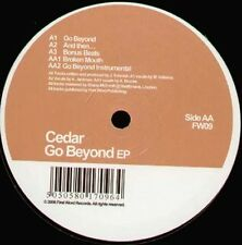 CEDAR - Go Beyond EP - 2006 First Word Records Uk - FW09
