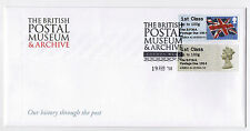 ERROR! BPMA - POSTAGE DUE  FDC Post & Go 19/02/14 lst Class on BPMA COVER