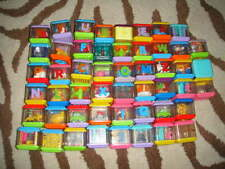 Lot Of 51 Fisher Price Peek A Boo Blocks