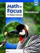 Grade 4 Math in Focus Student Workbook 4A Singapore Approach 2009 Non Common Cor