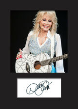 DOLLY PARTON #2 Signed Photo Print A5 Mounted Photo Print - FREE DELIVERY