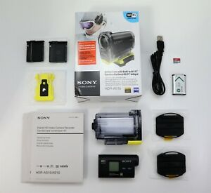 SONY ACTION CAM HDR-AS15 CAMCORDER BOXED WIFI HD SDHC CARD DIGITAL ACTION CAM