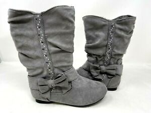 Canyon River Blues Toddler Girl's Falon Zip Up Slouch Boots Gray #26271 77E r