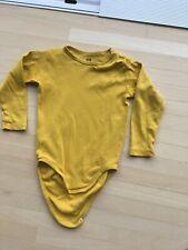 Body Gr 92 gelb H&M
