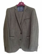 Wool Blend Regular Textured Suits & Tailoring for Men