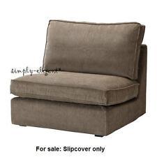 Ikea Kivik 1 One Seat Section Sofa Cover Tranas Light Brown Corduroy Slipcover