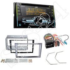 JVC CD USB Bluetooth Doppel-DIN Autoradio für Opel Antara Astra H Zafira charcoa