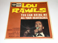 LOU RAWLS YOU CAN BRING ME ALL YOUR HEARTACHES vinyl 45 tours