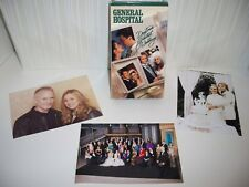 GENERAL HOSPITAL 3 Photos & Wedding Tape GENIE FRANCIS Kin Shriner JACK WAGNER +