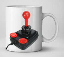 Competition Pro Joystick Mug (Commodore 64 CBM64 Amiga Retro Gaming)