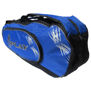 Pro Tennis Racket Bag Blue sports kit sports racquet shoulder backpack carrier
