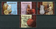 Portugal 2018 MNH Chocolate 4v Set Culture & Traditions Gastronomy Stamps