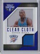 Serge Ibaka 2014-15 Panini Totally Certified Clear Cloth Jersey /199