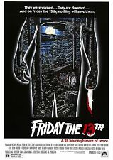 Friday the 13th - Jason Voorhees - Betsy Palmer - A4 Laminated Mini Movie Poster