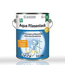 Jaeger Aqua Fliesenlack 875 weiss 2,5l - Fliesen streichen , Fliesen lackieren