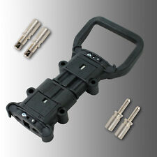 Satz Batteriestecker mit Kupplung (Stecker+Dose) Rema Euro DIN 80A 25mm²
