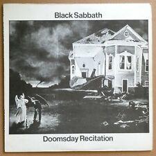 Black Sabbath - Doomsday Recitation 1977 Vinyl Record Live 2 LP, Ozzy