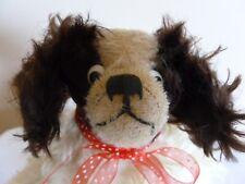 Vintage Dog Cavalier King Charles Spaniel Hand Puppet