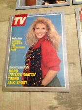 SETTIMANA TV N°34 1988 MARIA TERESA RUTA BIM BUM BAM UAN BONOLIS HAPPY DAYS