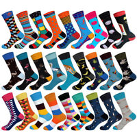 New Arrived Brand Men Socks Funny Colorful Cotton Casual Animals&Stripes Socks