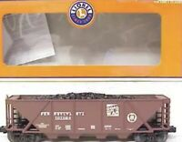 ✅LIONEL PENNSYLVANIA COAL GOES TO WAR 4 BAY QUAD HOPPER CAR 2002 LCCA 6-52266!